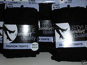 High Quality Fashion Tights color black size Queen Plus