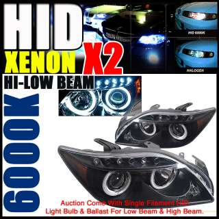 2SET XENON 04 08 SCION TC CCFL HALO PROJECTOR HEADLIGHT