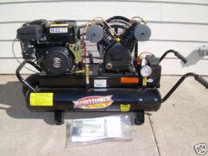 NEW GAS ENGINE POWERED CAST IRON PUMA AIR COMPRESSOR