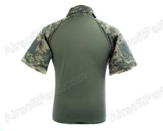 Airsoft Tactical Combat Army Short Sleeve T Shirt ACU S