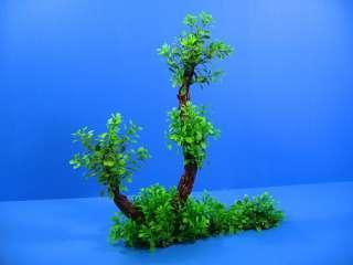 3D Aquarium PLASTIC PLANTS 14.1L Ornament fish Decor