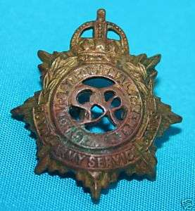 BRITISH Royal Army Service Corps small Badge WWI II