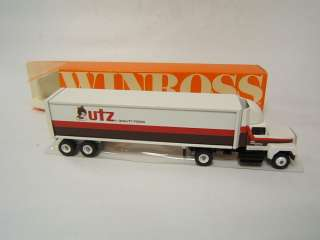 Winross Utz Potato Chips Hanover PA tractor trailer FC