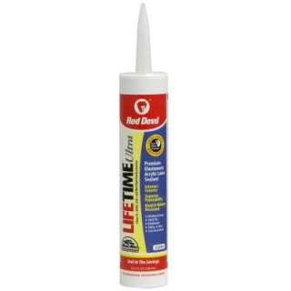Lifetime Ultra 10.1 oz. Acrylic Latex Caulk 0777