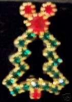 DISNEY WDW MICKEY CHRISTMAS TREE JEWELED PIN NEW