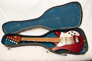 1965 Teisco Del Rey ET 300 3 Pick up Guitar Excellent Condition