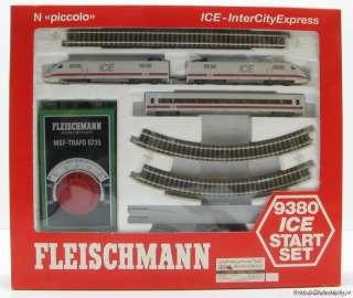 FLEISCHMANN 9380 ICE Startset KKK Epoche V   neuw   OVP