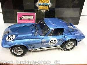 18 Exoto 18023 Corvette Grand Sport #65 Nassau 63