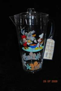 Disney Mickey Mouse BBQ Summertime Pitcher Drink Party