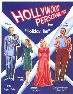 VNTAGE HOLLYWOOD PERSON PAPER DOLLS LAZER REPRO ORG SZE
