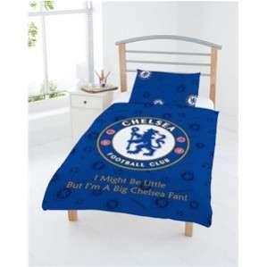 Chelsea FC OFFICIAL Junior Bed Set Pillow Duvet Covers