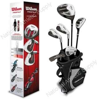 Wilson Profile Junior Golf Club Set Black Right Hand Ages 10 13
