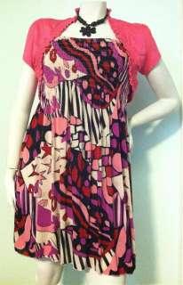 NEW Womens Smocked Plus XL 1X 2X Cropped BOLERO SHRUG Top Short Sleeve