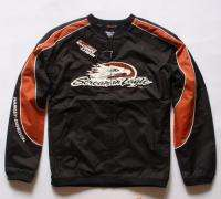 HARLEY DAVIDSON BLACK/ORANGE JACKETS XXLARGE HD70BK XXL