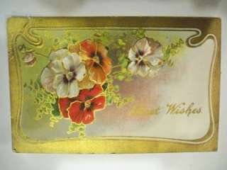 VTG Post Card Lot Holiday Easter Love Best Wishes
