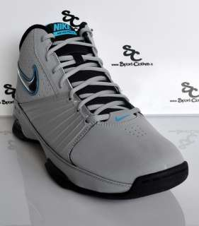 Nike Air Visi Pro II 2 mens basketball shoes grey blue NEW 2012