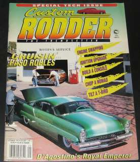 Custom Rodder Magazine September 1995