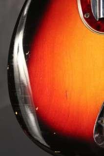 1964 Fender PRECISION P Bass Sunburst Pre CBS 100% complete