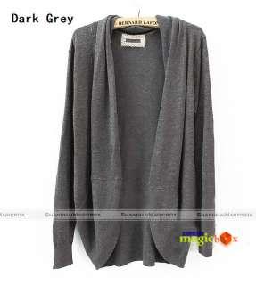 Women Fashion Cardigan Jacket Sweater Coat 3 Colors 003