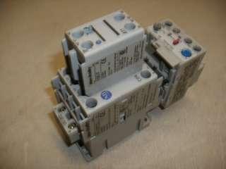 Allen Bradley 100 C09*10 Contactor w/ 193 EA1EB Relay