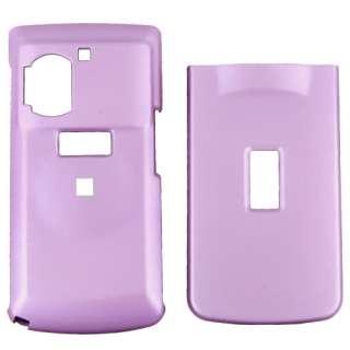 Casio Exilim C721 Rubberized Plastic Case   Light Purple