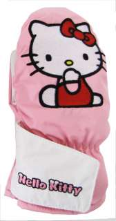 Guanti sci bambina Hello Kitty Kid pink   6 anni   III