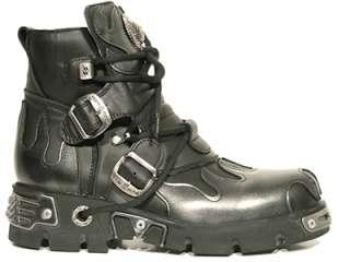 shoes shuhe reactor flammes gothic New Rock 40to47 EU