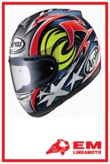 Casco Helmet Casque Arai RX 7 Corsair Nicky Hayden XXL
