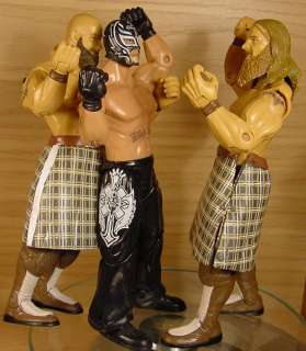 WWE JAKKS The Highlanders Tag Team Wrestling figures!