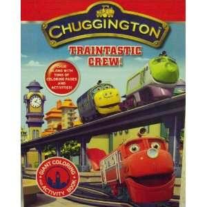 Chuggington Coloring & Activity Book 96 Pg ~ Traintastic