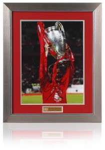 Large Dietmar Hamann LIVERPOOL Hand Signed European Cup