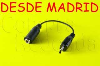 CABLE ADAPTADOR AURICULAR JACK 3.5 PARA NOKIA MICRO USB