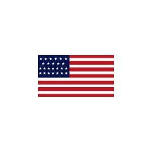 Historical 25 Star United States Flag, 3 x 5 Nylon