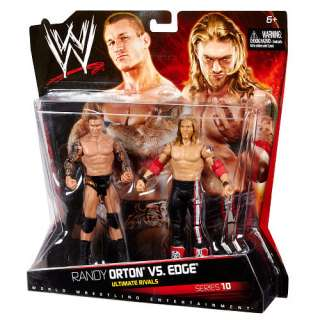 WWE Series 10 Action Figure 2 Pack   Randy Orton vs. Edge   Mattel
