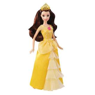 Disney Princess Belle Sparkle Doll   Mattel 1001134   Princess