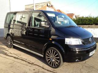 56 Volkswagen Transporter (T5) 9 Seater Shuttle # Double Sliding Doors