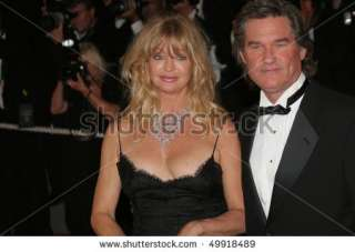 Cannes, France   May 22 Actors Goldie Hawn And Kurt Russell Attend