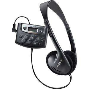 Sony SRF M37W Belt Clip Walkman Digital Tuning Weather Radio, AM/FM