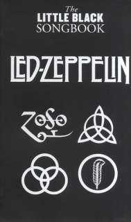 The Little Black Song Book Songbook Chords Led Zeppelin