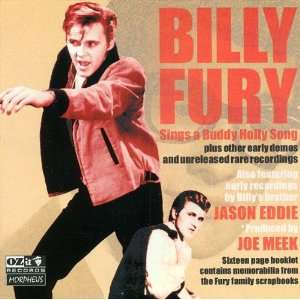 Sings a Buddy Holly Song Billy Fury, Eddy Jason Music