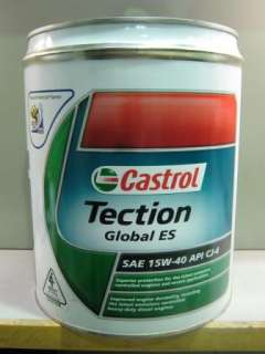 Castrol Tection Global ES Diesel Truck Engine Oil 20L
