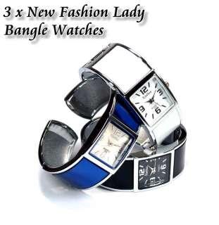 New Elegant Lady Stylish Bangle Watches b259k