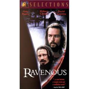 Ravenous [VHS]: Guy Pearce, Robert Carlyle, David Arquette
