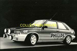RALLYE RAGNOTTI RENAULT 11 TURBO GROUPE A REF R5