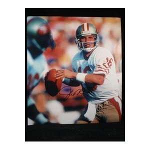 com Joe Montana(San Francisco 49ers) Autographed 11x14 Photo   Mens