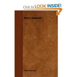 More Animals (9781444631173): Oliver Herford: Books