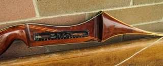 VINTAGE BEAR TAMERLANE TARGET RECURVE BOW 69 34# RH GOLD EMBLEM 8E143