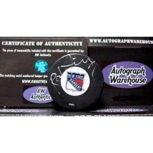 Rod Gilbert Autographed Hockey Puck (New York Rangers