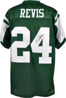 Autographed Jersey  Details New York Jets, Green, Reebok Authentic