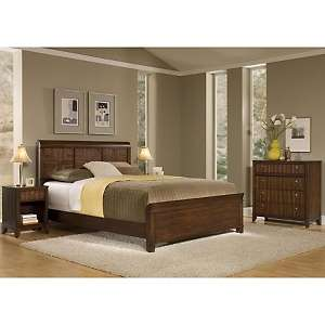 Home Styles Paris Queen Bed, Night Stand and Chest